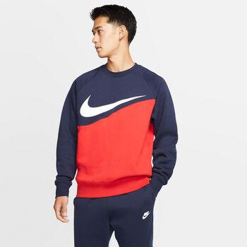 Nike Sporswear Swoosh Crew longsleeve Heren Rood