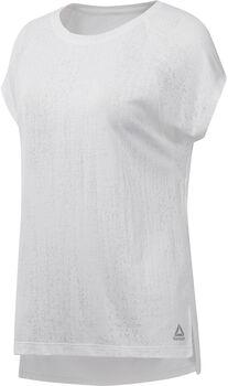 Reebok Burnout shirt Dames Wit