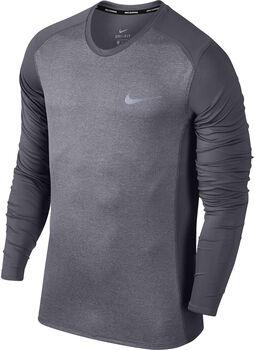 Nike Dry Miler Running shirt Heren Grijs