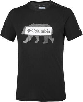 Columbia Logo Bear shirt Heren Zwart