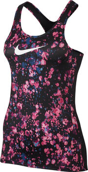 Nike Pro Microcosm top Dames Rood