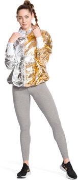 Nike Sportswear Metallic jack Dames Zwart