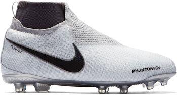 Nike JR Phantom Vision Elite Dynamic Fit FG voetbalschoenen Jongens Grijs