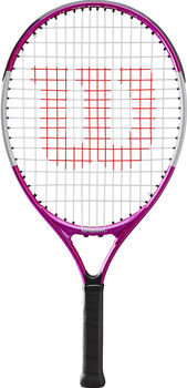 Wilson Ultra Pink 21 Tennisracket Kids Meisjes Wit