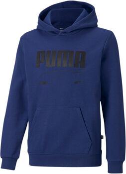 Puma Rebel hoodie Jongens Zwart