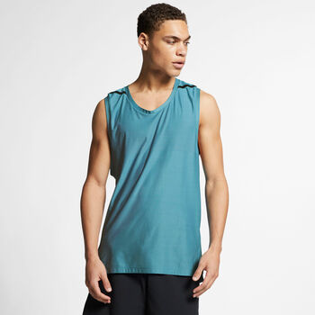 Nike Dri-FIT Training top Heren Blauw