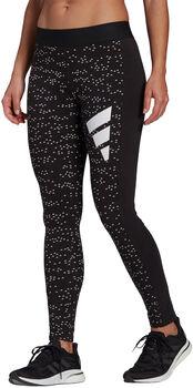 adidas Sportswear Allover Print Legging Dames Zwart
