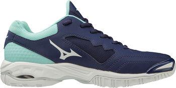 Mizuno Wave Phantom 2 handbalschoenen Dames Blauw