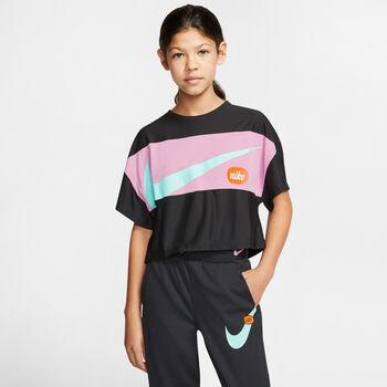 Nike Just Do It kids shirt Zwart