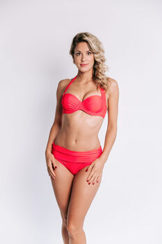 Bomain Uni Wire bikini Dames Rood