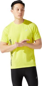ASICS SMSB Run shirt Heren Geel