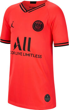 Nike Paris Saint-Germain jr uitshirt 2019-2020 Jongens Rood