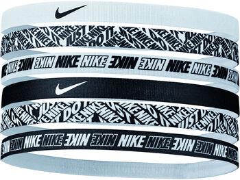 Nike Printed haarbandjes 6-pack Wit