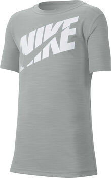 Nike Short Sleeve kids shirt Jongens Grijs