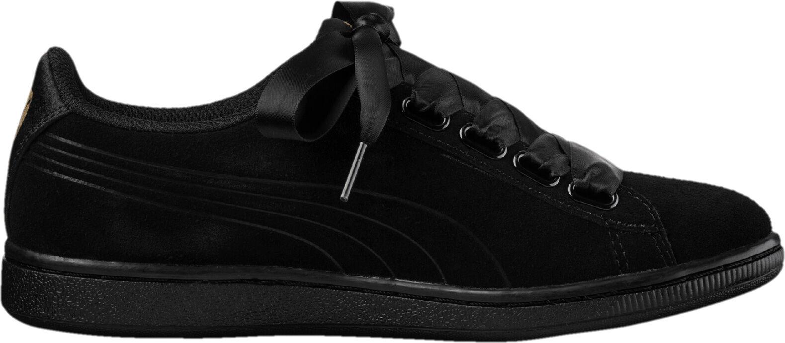 Vikky Sneakers Ribbon Dames Puma S Zwart dF0xnSTwR