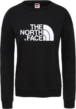 The North Face Drew Peak Crew sweater Dames Zwart
