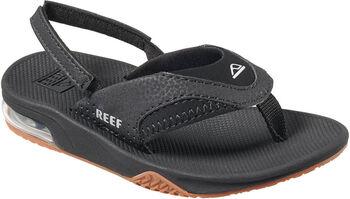 Reef Fanning kids slippers Jongens Zwart