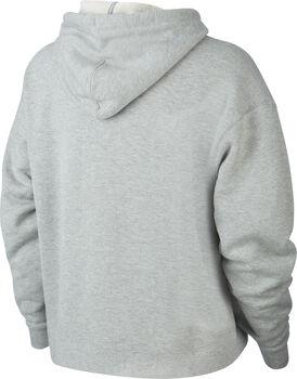 Nike Court Heritage hoodie Dames Grijs
