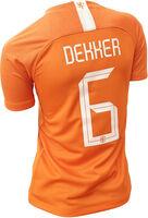 Nederland jr thuisshirt Dekker