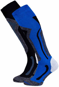 Falcon Coolly skisokken Heren Blauw