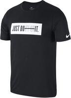 Nike Dry shirt Heren Zwart