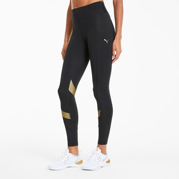 Puma Metal Splash Eclipse tight Dames Zwart