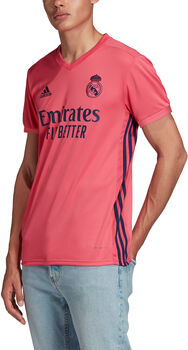 adidas Real Madrid 20/21 Uitshirt Heren Rood