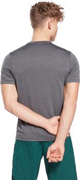 Reebok Work Melange t-shirt Heren Zwart
