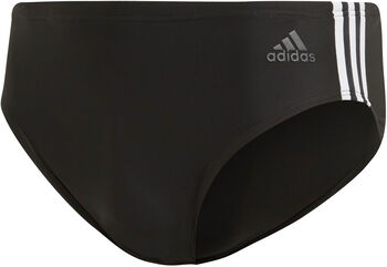 adidas Fitness 3-Stripes zwembroek Heren Zwart