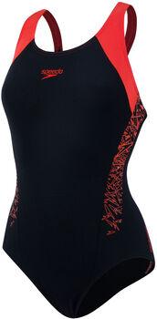 Speedo Endurance Boom Splash badpak Dames Zwart