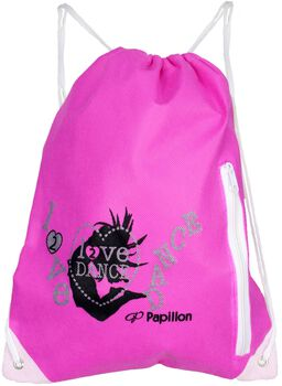 Papillon Love Dance rugtas Roze