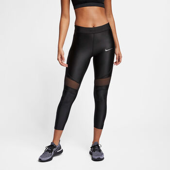Nike Speed 7/8 tight Dames Zwart