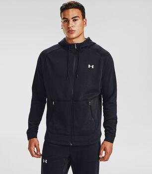 Under Armour Charged Cotton® Fleece Full Zip hoodie Heren Zwart