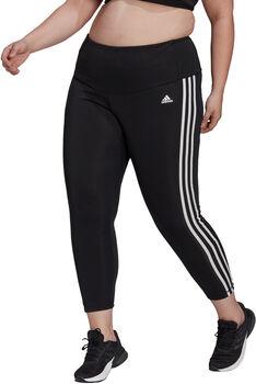 adidas Designed To Move High-Rise 3-Stripes 7/8 Sportlegging (Grote Maat) Dames Zwart