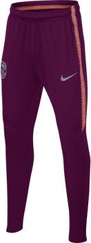 Nike FC Barcelona Dry Squad jr broek Rood