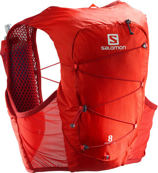 Salomon Active Skin 8 set Rood