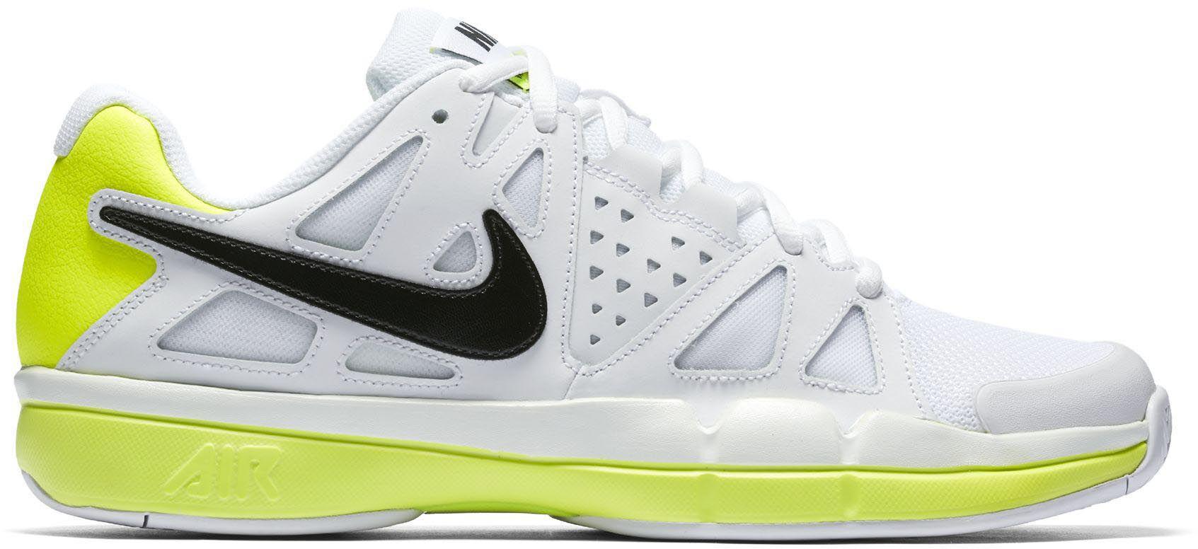 Nike - Vapeur Air Avantage Cuir Chaussures De Tennis - Hommes - Chaussures - Blanc - 37.5 0nltI
