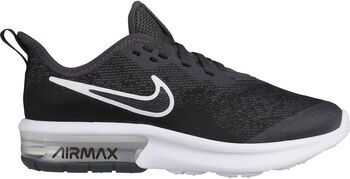 Nike Air Max Sequent 4 sneakers Jongens Zwart