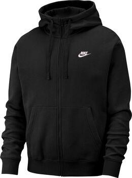 Nike Sportswear Club hoodie Heren Zwart