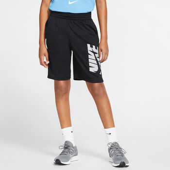 Nike Dri-FIT kids short Jongens Zwart
