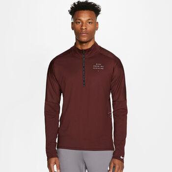 Nike Element Run Division top Heren