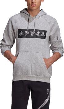 adidas TAN Sweatshirt met Capuchon Heren Grijs