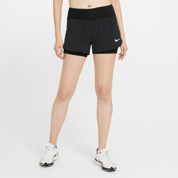 Nike Eclipse 2-in-1 short Dames Zwart