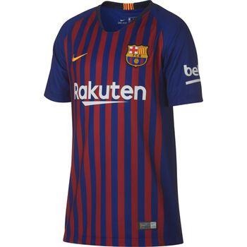 Nike FC Barcelona Jr Thuisshirt 2018-2019 Blauw