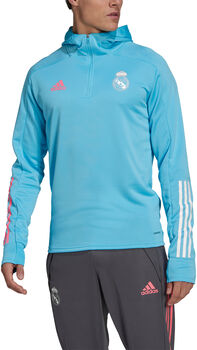 adidas Real Madrid Trainingshoodie Heren Blauw