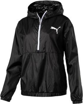Puma Spark 3/4 Zip hoodie Dames Zwart