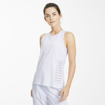 Puma Twist It Logo top Dames Wit