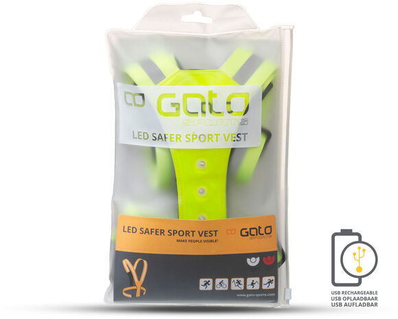 Safer LED USB sport hesje