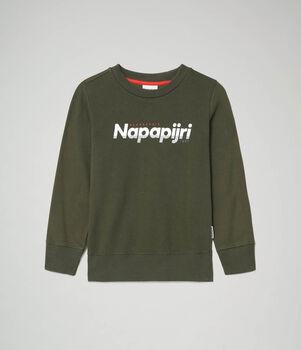 Napapijri Baloy kids sweater Jongens Groen