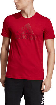 ADIDAS Must Haves Badge of Sport Foil shirt Heren Rood